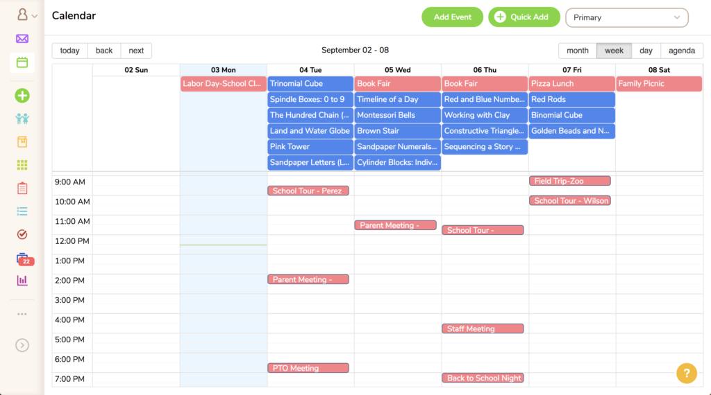 introducing the new and improved mc calendar montessori compass